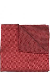 Шелковый платок с узором Armani Collezioni