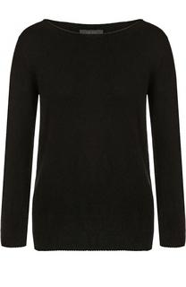 Кашемировый пуловер с вырезом-лодочка The Row