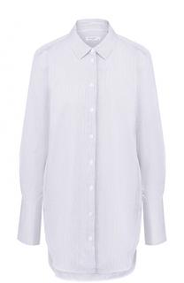 Удлиненная блуза свободного кроя в полоску Equipment