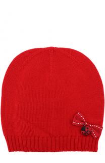 Шерстяная шапка с бантом Dolce & Gabbana