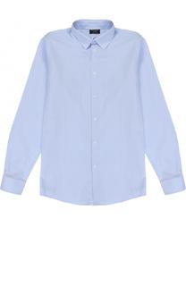 Хлопковая рубашка в клетку Dal Lago