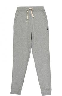 Спортивные брюки на кулиске с эластичными манжетами Polo Ralph Lauren
