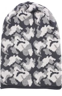 Шерстяная шапка с принтом Catya