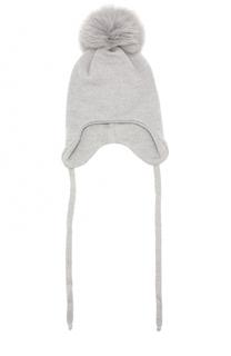 Шерстяная шапка с помпоном Il Trenino