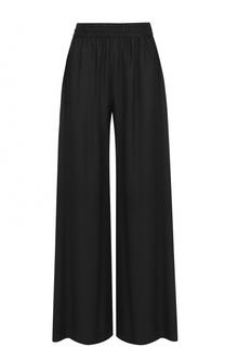 Широкие шелковые брюки с эластичным поясом T by Alexander Wang