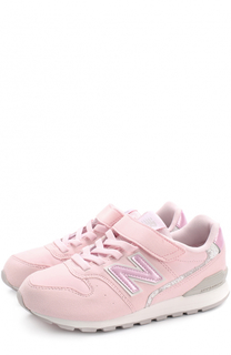 Текстильные кроссовки 996 на шнуровке с застежками велькро New Balance