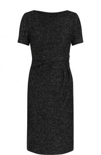 Приталенное платье-миди с драпировкой Kiton