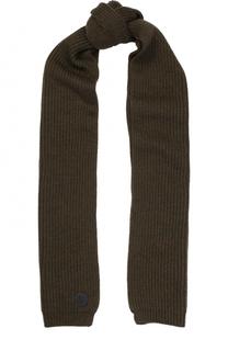 Вязаный шарф из шерсти Dsquared2