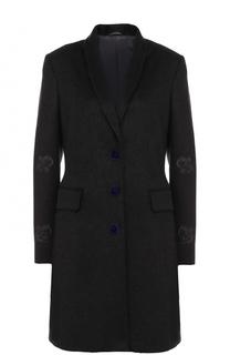 Кашемировое приталенное пальто Kiton
