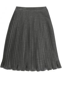 Плиссированная юбка из вискозы Caf