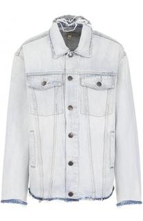 Джинсовая куртка с потертостями Current/Elliott
