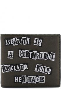 Текстильное портмоне с отделениями для кредитных карт Valentino