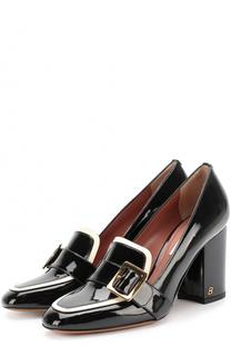 Лаковые туфли на устойчивом каблуке Bally