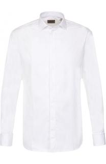 Хлопковая сорочка под смокинг Armani Collezioni