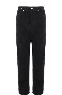 Вельветовые джинсы прямого кроя Dries Van Noten