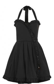 Приталенное мини-платье с открытой спиной Marc Jacobs