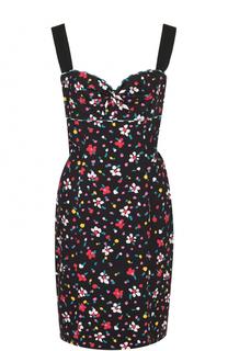 Приталенное мини-платье с принтом Marc Jacobs