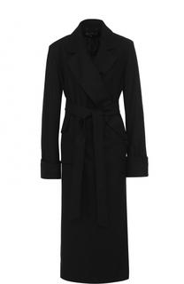 Удлиненное пальто с поясом Ann Demeulemeester