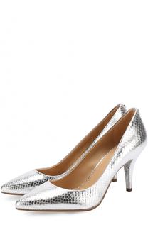 Туфли Flex из металлизированной кожи на шпильке MICHAEL Michael Kors