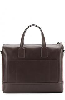 Кожаная сумка для ноутбука Bally