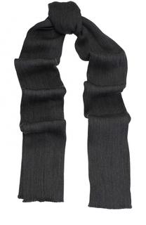 Шерстяной шарф с необработанным краем Paul&Shark Paul&Shark