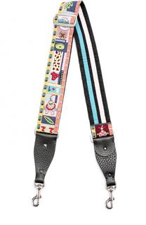 Ремень для сумки Guitar с вышивкой Valentino