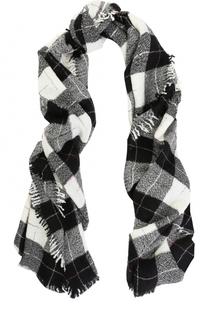 Шерстяной шарф в клетку Isabel Marant