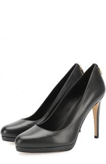 Кожаные туфли Antonoitte на шпильке MICHAEL Michael Kors
