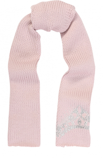 Шерстяной шарф со стразами Catya