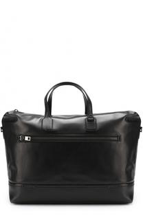 Кожаная дорожная сумка с плечевым ремнем Bally