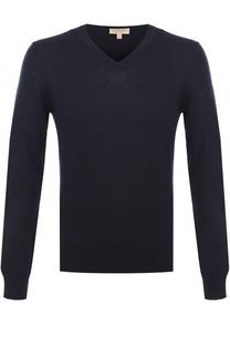 Пуловер из смеси хлопка и кашемира Burberry