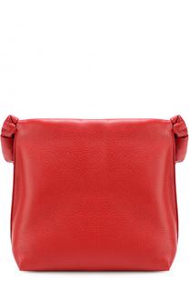 Кожаная сумка с декорированным ремнем The Row