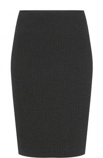 Вязаная юбка-карандаш Armani Collezioni