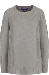 Кашемировый пуловер с круглым вырезом Ralph Lauren