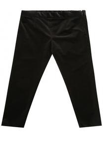 Вельветовые брюки с эластичной вставкой на поясе Dolce & Gabbana