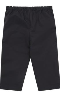 Хлопковые брюки с накладным карманом и эластичным поясом Burberry