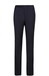 Шерстяные брюки прямого кроя Thom Browne