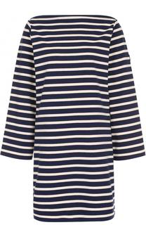 Хлопковое мини-платье в полоску Marc Jacobs