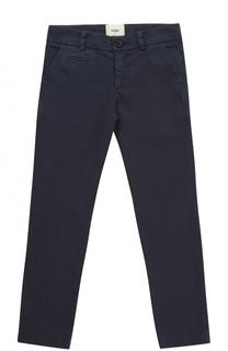 Хлопковые брюки прямого кроя Fendi Roma