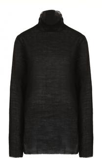 Удлиненный свитер свободного кроя Ann Demeulemeester