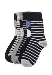 Комплект носков 6 пар oodji