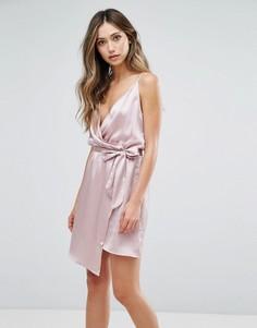 Платье с запахом Love & Other Things - Розовый