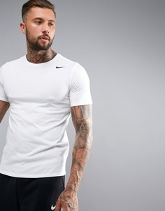 Белая футболка Nike Training Dry 2.0 706625-100 - Белый