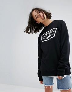 Черный свитшот Vans - Мульти