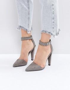 Туфли на каблуке All Saints - Серый
