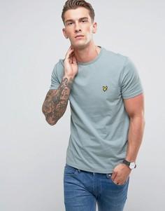 Синяя футболка Lyle & Scott - Синий