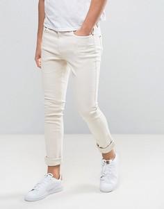 Светло-розовые джинсы скинни Hoxton Denim - Розовый