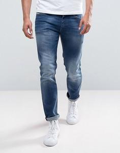 Узкие джинсы Diesel 084GR - Синий