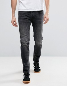 Черные узкие джинсы Jack & Jones Intelligence - Черный
