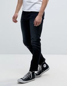 Синие выбеленные джинсы Nudie Jeans Co Grim Tim - Синий